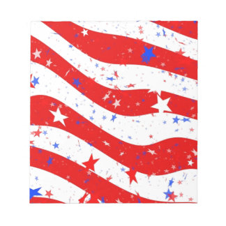 Us Stars And Stripes America Flag American Flag Notepad