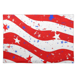 Us Stars And Stripes America Flag American Flag Placemat