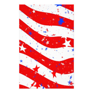 Us Stars And Stripes America Flag American Flag Stationery