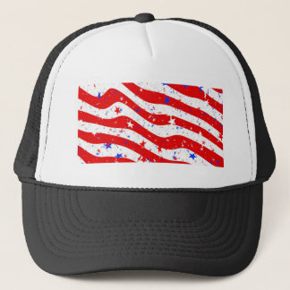 Us Stars And Stripes America Flag American Flag Trucker Hat