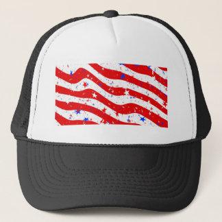 Us Stars And Stripes America Flag American Flag Trucker Hat