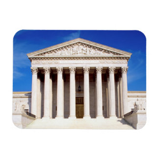 US Supreme Court building, Washington DC, USA Rectangular Photo Magnet