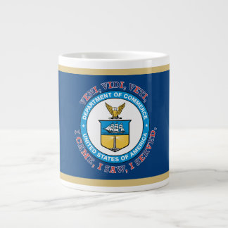 US TDEPARTMENT OF COMMERCE VVV Shield Large Coffee Mug