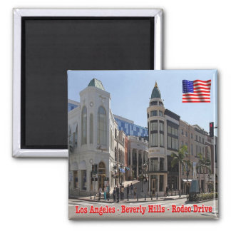 US U.S.A. Los Angeles Beverly Hills Rodeo Drive Magnet