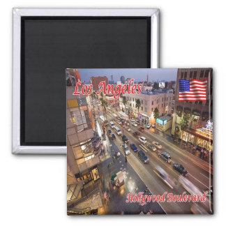 US U.S.A. Los Angeles Hollywood Boulevard Magnet