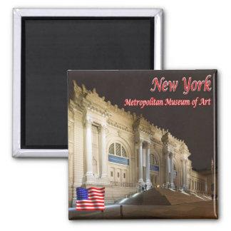 US U.S.A. New York City Metropolitan Museum of Art Magnet