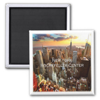 US * U.S.A. - New York - Rockefeller Center Square Magnet