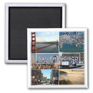 US * U.S.A. San Francisco - California Magnet