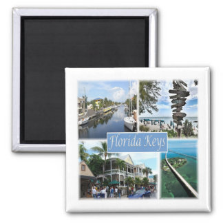 US * U.S.A. - The Florida Keys Magnet
