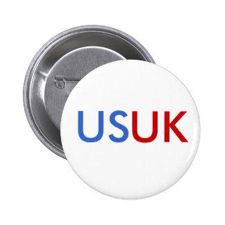 US/UK 2 INCH ROUND BUTTON