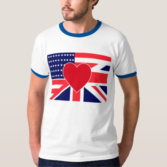 US/UK Love T-Shirt