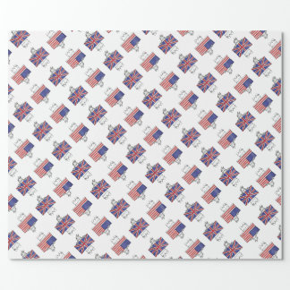 US UK Wrapping Paper
