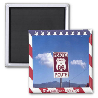 US - United States of America Route 66 New Mexico Magnet