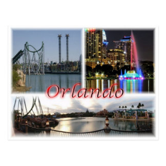 US United States - Orlando Florida - Postcard