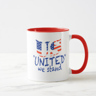 US UNITED WE STAND MUG