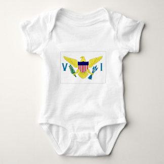 US Virgin Islands Baby Bodysuit