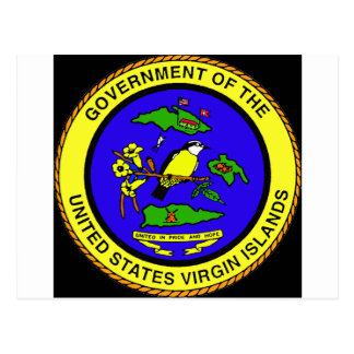 US Virgin Islands Emblem Postcard