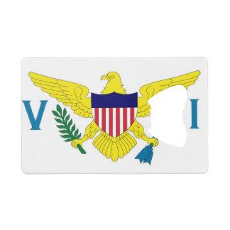 US Virgin Islands Flag Wallet Bottle Opener