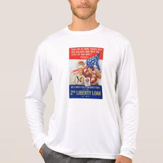 US War Bonds 2nd Liberty Loan 1917 WWI Propaganda Tee Shirt