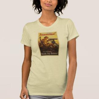 US War Bonds Ammunition WWI Propaganda T Shirts