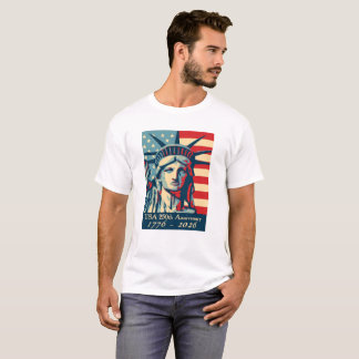 USA 250th Anniversary Statue of Liberty T-Shirt