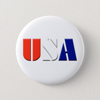 USA 2 INCH ROUND BUTTON