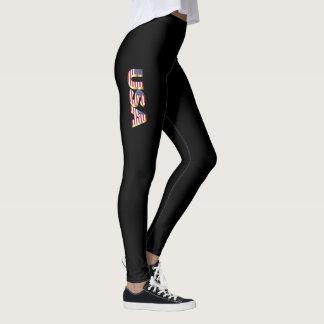 USA 3D Leggings