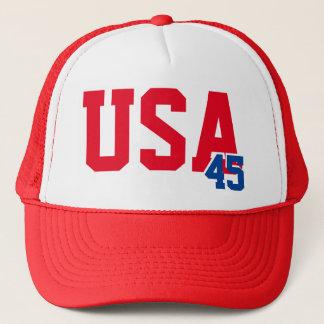 USA 45 TRUCKER HAT