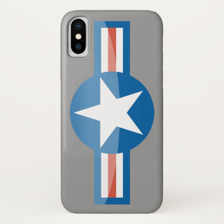 USA Aircraft Roundel iPhone case