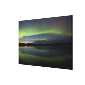 USA, Alaska, Arctic Circle, Bettles. The Gallery Wrapped Canvas