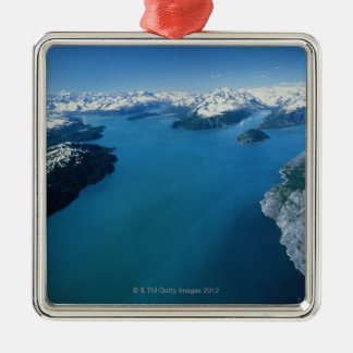 USA,Alaska,Glacier Bay National Park,aerial view Metal Ornament