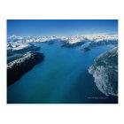 USA,Alaska,Glacier Bay National Park,aerial view Postcard