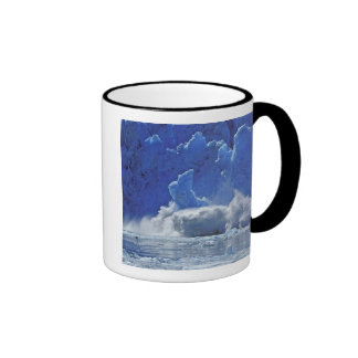 USA, Alaska, Juneau. Part of South Sawyer Ringer Coffee Mug