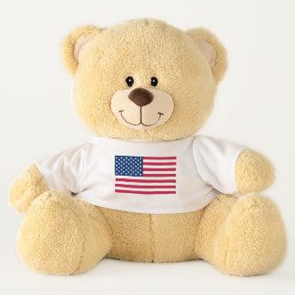 USA America American flag Teddy Bear