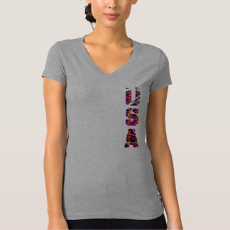 USA american flag colors custom t-shirt design