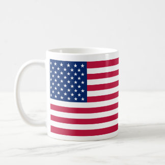 USA American Flag Stars and Stripes Tea Coffee Mug