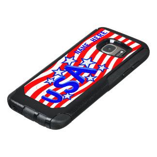 USA American Pride Blue Silver Stars GalaxyS7 OtterBox Samsung Galaxy S7 Case