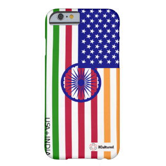 USA and India Flag Phone Cover