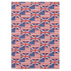USA and UK Flag Pattern. Tablecloth