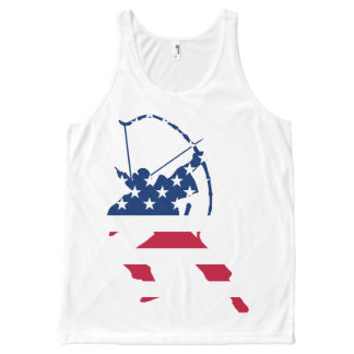 USA Archery American archer flag All-Over-Print Tank Top