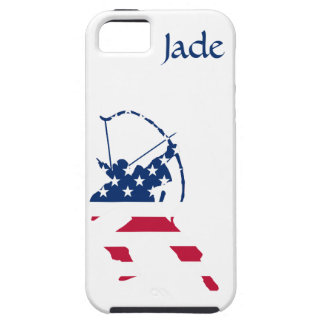 USA Archery American archer flag Case For The iPhone 5
