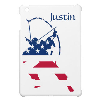 USA Archery American archer flag iPad Mini Cover