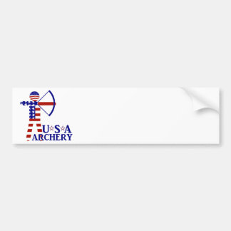 USA Archery Bumper Sticker