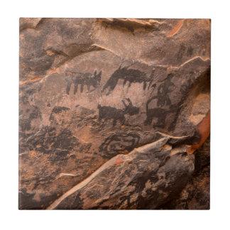 USA, Arizona, Coconino National Forest, Palatki Tile