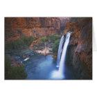 USA, Arizona, Grand Canyon, Havasu Falls Card