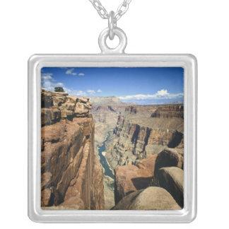 USA, Arizona, Grand Canyon National Park, Silver Plated Necklace