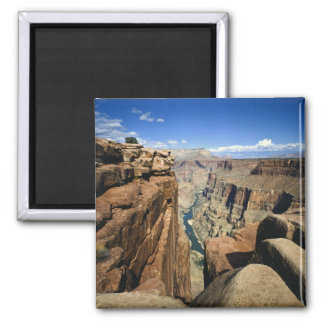 USA, Arizona, Grand Canyon National Park, Square Magnet