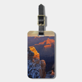 USA, Arizona, Grand Canyon National Park, Winter Luggage Tag