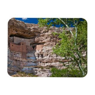 USA, Arizona. Montezuma Castle, The Ruins Rectangular Photo Magnet