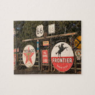 USA, Arizona, Sedona: Antique Advertising Signs Jigsaw Puzzle